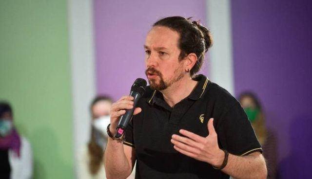 El líder de Unidas Podemos, Pablo Iglesias. EP