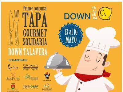 SOLIDARIDAD | Down Talavera organiza su primer concurso de 'Tapa Gourmet'