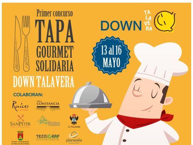 SOLIDARIDAD   Down Talavera organiza su primer concurso de 'Tapa Gourmet'
