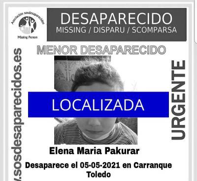 ÚLTIMA HORA | Localizan a la niña desaparecida en Carranque