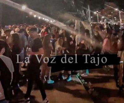 'Habrá mano dura contra los botellones' en Talavera