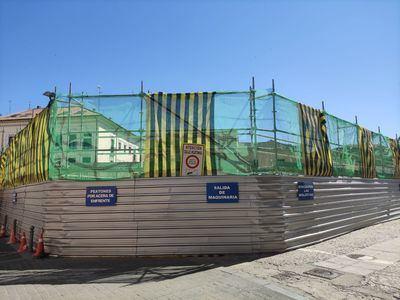 El Mercadona del casco antiguo recreará la fachada de la Iglesia de San Pedro