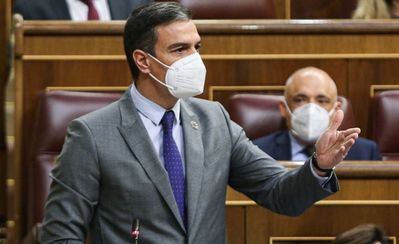 Pedro Sánchez anuncia una llegada