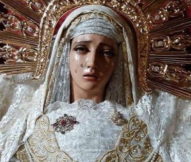 Roban las joyas de la Virgen de la Hermandad de la Sentencia de Talavera