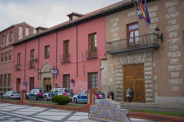 Puerta Noble del ayuntamiento de Talavera