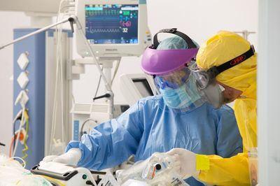 CLM registra el mejor dato en 10 meses en hospitalizaciones por covid-19