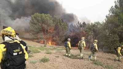 Controlado el incendio declarado ayer en Carranque