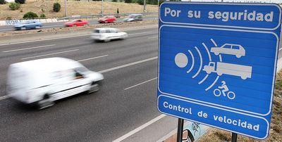 Más de 1.300 radares vigilarán las carreteras en verano