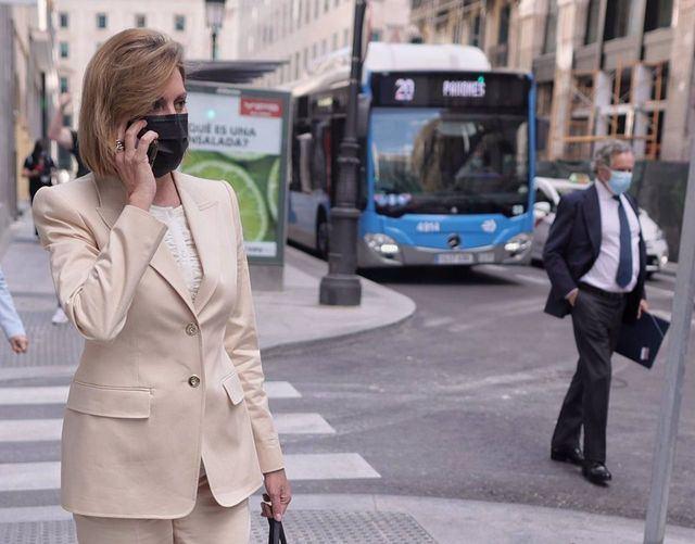 La exsecretaria general del PP y exministra María Dolores de Cospedal