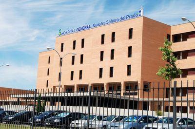 Tres hospitalizados en Talavera tras derrumbarse un balcón