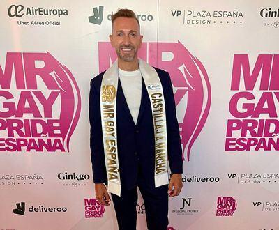 Así es Pedro J. García, el talaverano Mr. Gay Pride CLM