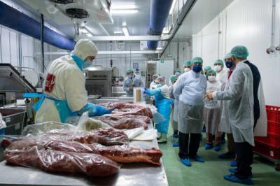 Cárnicas Dibe inaugura la ampliación de sus instalaciones
