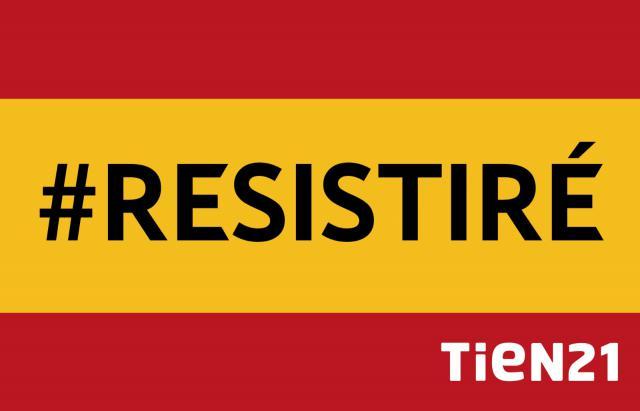 CONCURSO | Consigue una bandera de España Tien21 #RESISTIRÉ