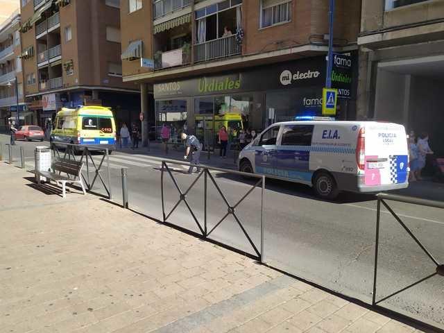 TALAVERA | Atropello en un paso de peatones de la calle Alfares