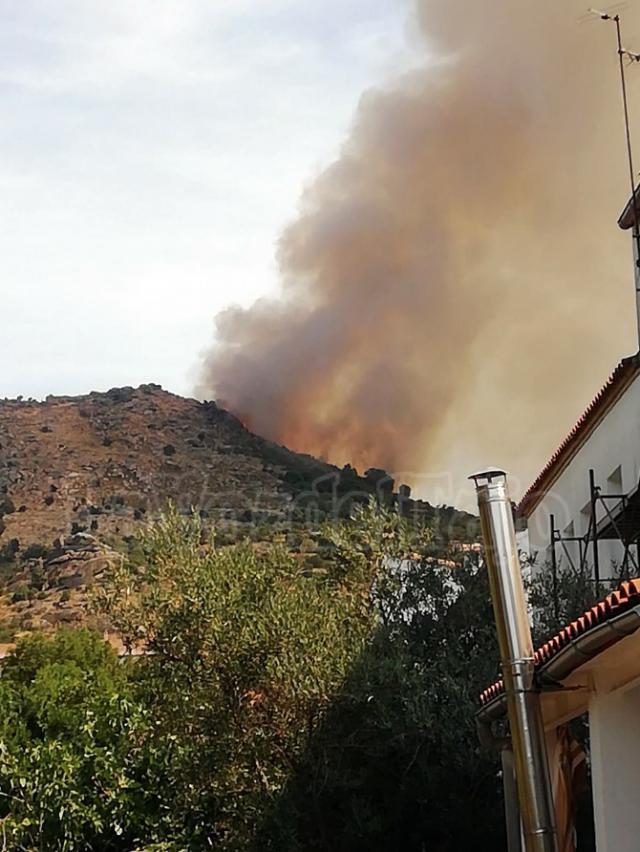 INCENDIO | Impactante imagen del fuego desde El Real de San Vicente