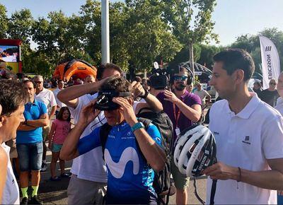 5G, el protagonista de la Vuelta a España a su paso por Talavera