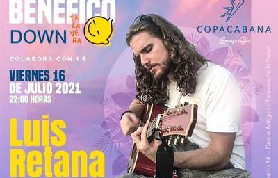 Concierto benéfico de Luis Retana a favor de Down Talavera