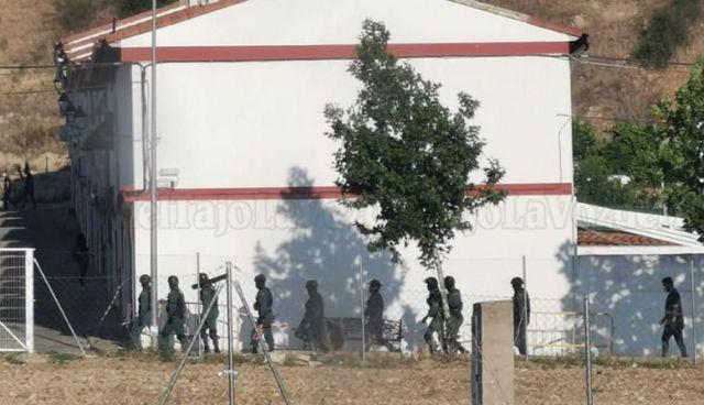 Espectacular redada antidroga de la Guardia Civil en la comarca de Talavera