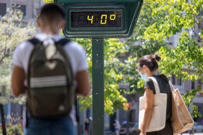 Un termómetro indica una temperatura de 40 grados | Europa Press | Archivo