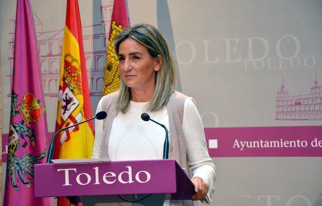 La alcaldesa de Toledo, Milagros Tolón | Archivo