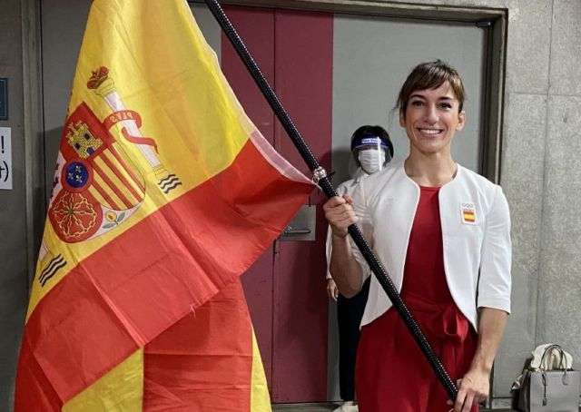 Así vivió Sandra Sánchez la inauguración de Tokio 2020