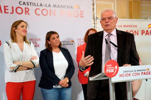 Borrell llama en Talavera a la movilización en las urnas el próximo domingo