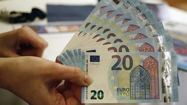 Imagen del nuevo billete de veinte euros - REUTERS