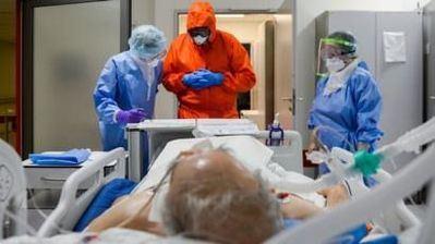 Imagen de un paciente con Covid | Foto: BBC
