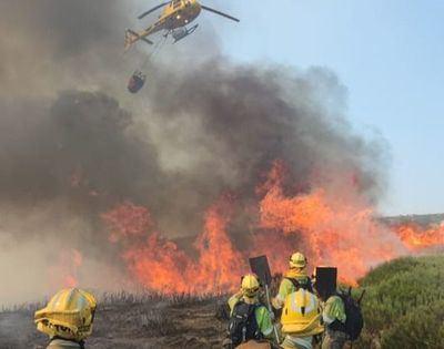 Ya es el peor incendio de los últimos 30 años en Castilla y León