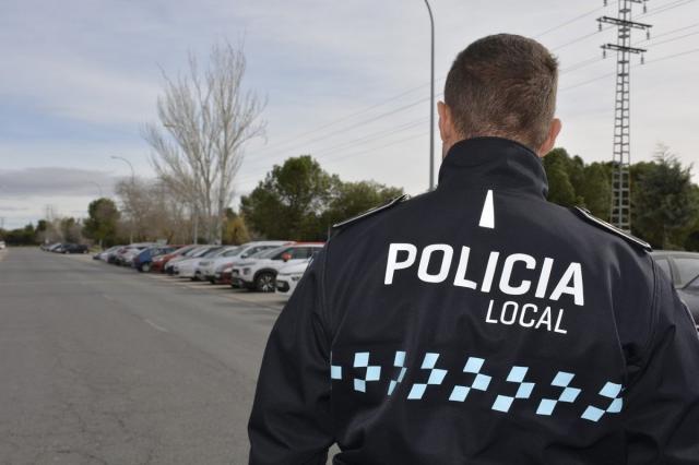 Policía Local de Toledo. Foto: @toledoayto