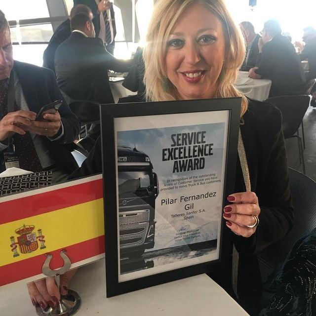 Nuevo reconocimiento europeo para la talaverana Pilar Fernández y Talleres Sanfer