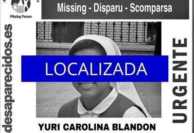 Desactivada la alerta por la monja de Toledo desaparecida