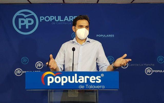 Santiago Serrano, presidente del PP Talavera   Imagen de archivo