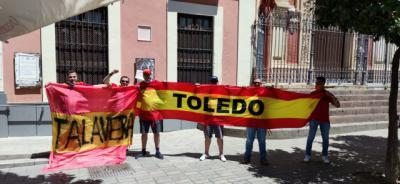 Aficionados de Talavera y Toledo, unidos apoyando a España