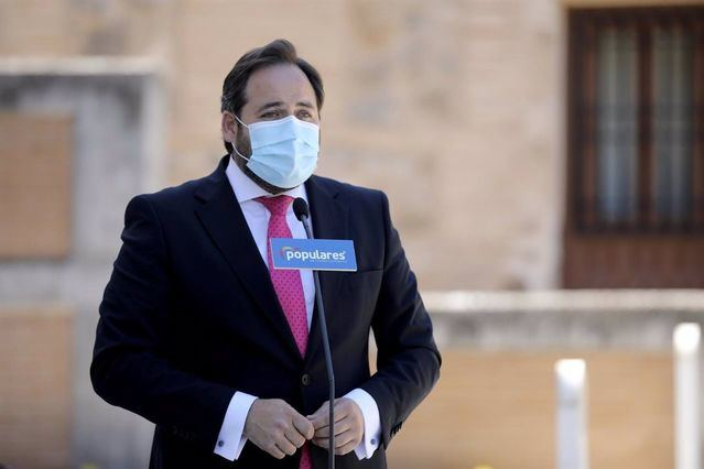 El presidente regional del PP, Paco Núñez. - PP