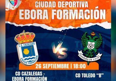 El CD Cazalegas-Ebora Formación quiere el liderato frente al Toledo