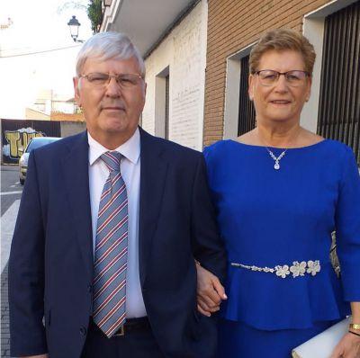 Juan Luis y Manuela celebran sus bodas de oro en Talavera
