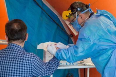 COVID-19 | SESCAM realizó test a residentes y trabajadores de la residencia de mayores de Los Navalucillos