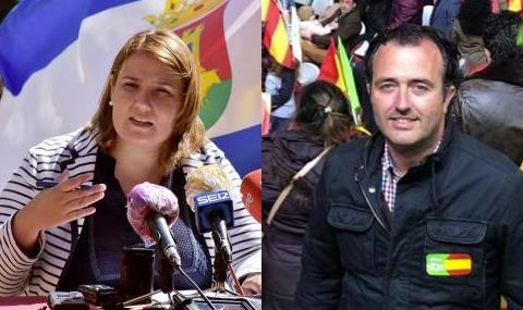 Tita García y David Moreno