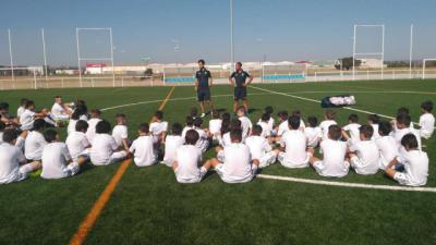 FÚTBOL | La Escuela Sociodeportiva de Fundación Real Madrid-Ebora Formación abre plazo de inscripción
