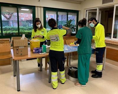 TALAVERA | Residentes y trabajadores del Centro de Mayores Casablanca reciben la segunda dosis de la vacuna