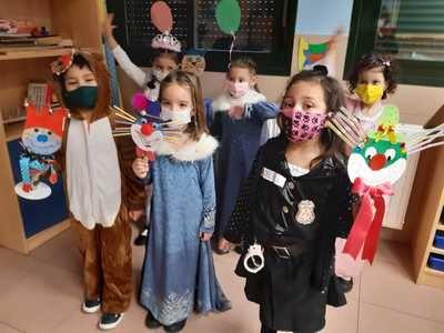 FOTOS | Así se vivió el Carnaval en el Colegio Juan Ramón Jiménez