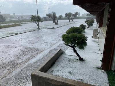 VIDEO   Espectacular granizada en Talavera