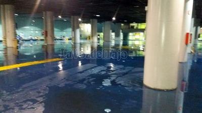 TEMPORAL   El centro de Talavera, inundado (vídeo)