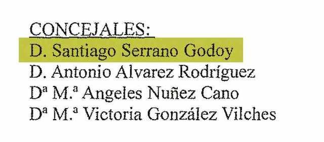 Los documentos que desmienten la versión de Serrano Godoy