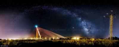 VIRAL | La impresionante foto de la Vía Láctea sobre Talavera