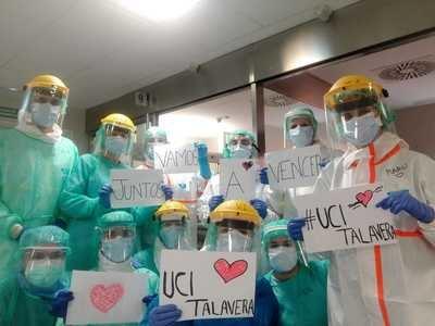 VÍDEO | Un grito de esperanza desde el Hospital de Talavera