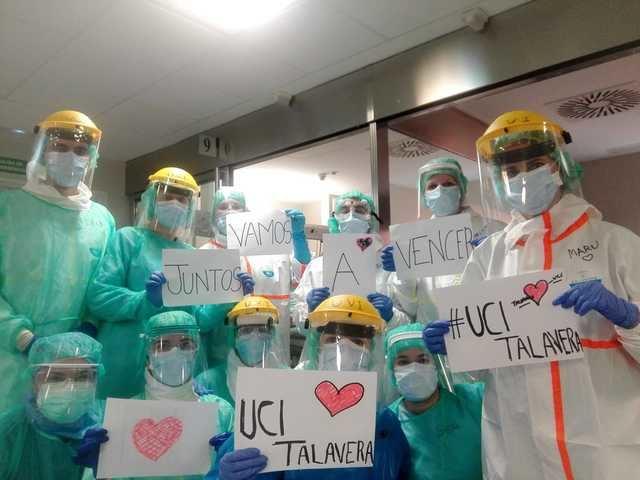VÍDEO   Un grito de esperanza desde el Hospital de Talavera