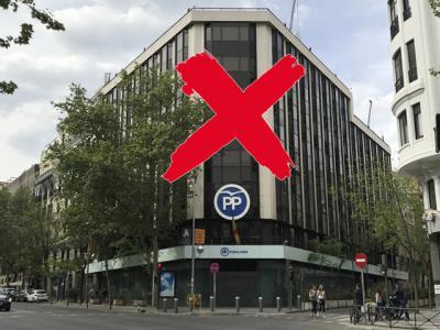 ABANDONO Y SILENCIO | El PP dejará la sede nacional de la calle Génova y