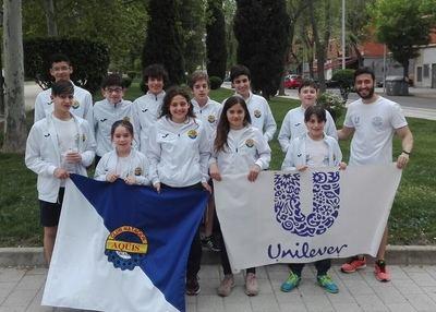 Gran actuación del CN Aqüis en la Copa Regional de Clubes de Natación
